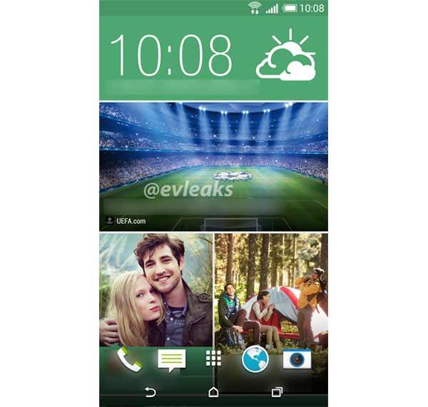 Se filtran capturas de pantalla del HTC M8 o HTC One Plus con botones virtuales