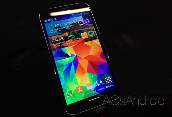 Pre análisis del Samsung Galaxy S5 en vídeo HD