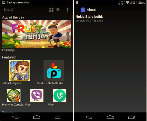 Ya se puede descargar el APK de la tienda de aplicaciones android de Nokia