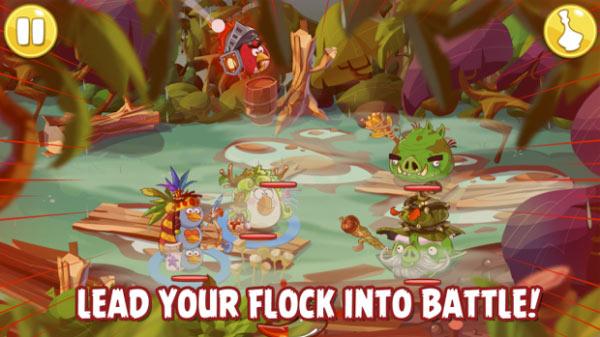 Angry Birds Epic es el nuevo juego android de los pájaros cabreados