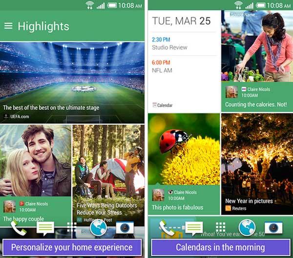 BlinkFeed y HTC Zoe estarán pronto disponibles para todos los Android
