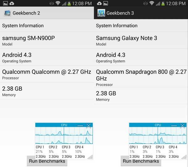 GeekBench-Samsung