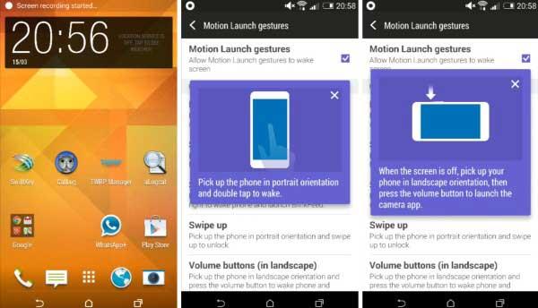 """HTC Sense 6.0 parece en un vídeo filtrado mostrando su nuevo """"knock-on"""""""