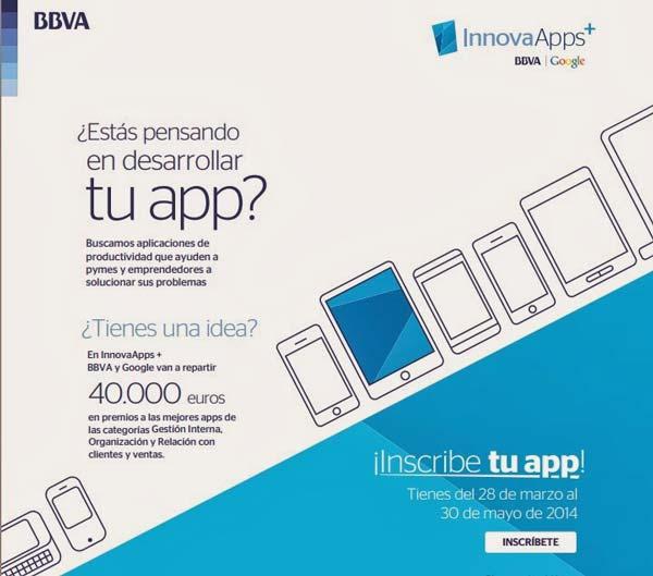 InnovaApps+, concurso para desarrolladores: Google y BBVA premian tu app
