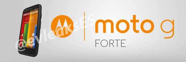 Motorola Moto G Forte, más resistente y para Sudamérica