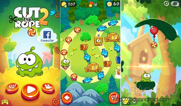 10 nuevas apps y juegos a tener en cuenta de esta semana: Cut The Rope 2