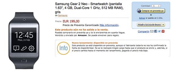 Primeros precios del Samsung Galaxy S5, Gear 2 y Gear Fit en Italia