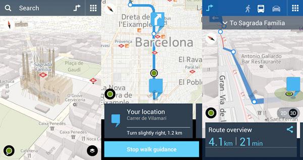 Se filtra la descarga de Nokia Here Maps para Android en APK