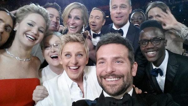 Samsung presume en los Oscars con el Tweet con más RT de la historia