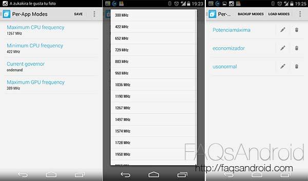 10 nuevas aplicaciones Android a tener en cuenta:  Per-App Modes lite