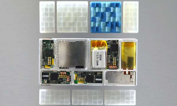 Más detalles de Project Ara: se muestra una maqueta del móvil modular