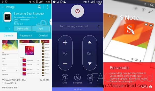 Se filtran algunas aplicaciones del Samsung Galaxy S5: ya se pueden instalar