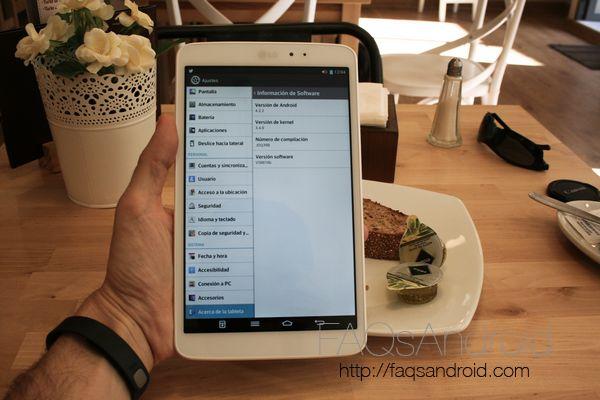 Análisis de la tablet LG G Pad 8.3 en vídeo