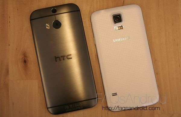 Comparativa del Samsung Galaxy S5 vs HTC One M8: a fondo
