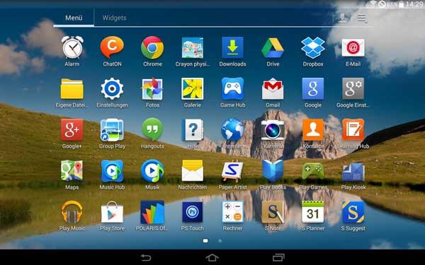 Filtrada la ROM de pruebas Android 4.4.2 KitKat oficial del Samsung Galaxy Note 10.1