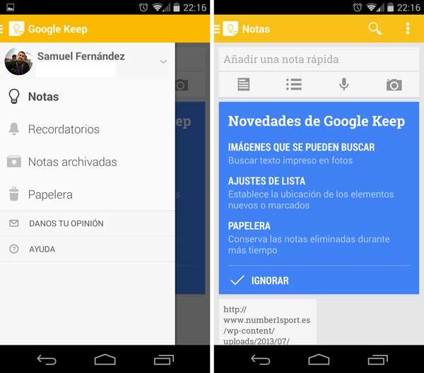 El nuevo diseño de Google para Android ya se ve en estas apps