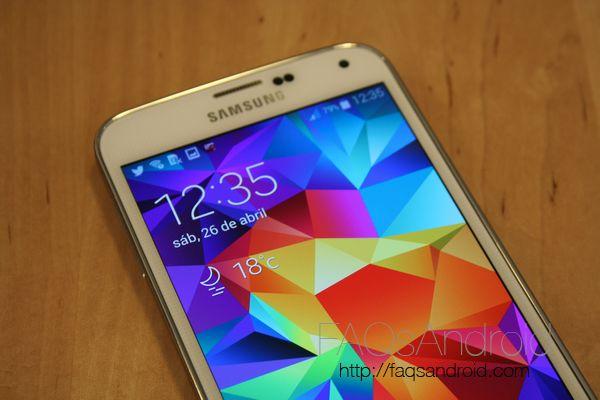 Actualización para mejorar el rendimiento de los Samsung Galaxy S5 europeos