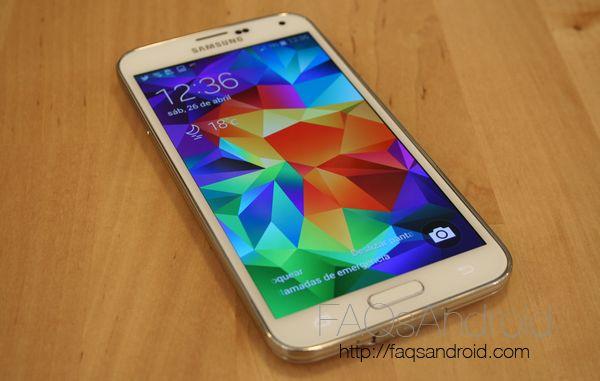 Samsung presenta un Samsung Galaxy S5 con pantalla de 2560 x 1440 px