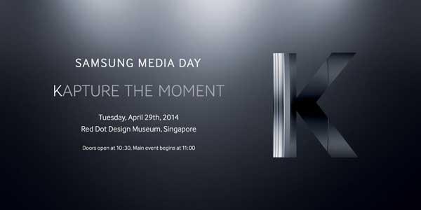El Galaxy S5 Zoom se presentará el 29 de abril como Samsung Galaxy K