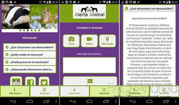 Las 10 apps destacadas de la semana:  Alerta animal