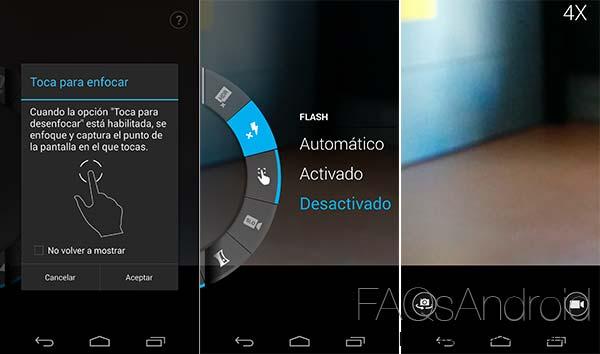 Instala la aplicación de cámara del Motorola Moto X en el Nexus 5