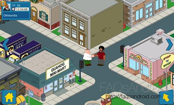 Family Guy: en búsqueda de cosas, el videojuego de la serie
