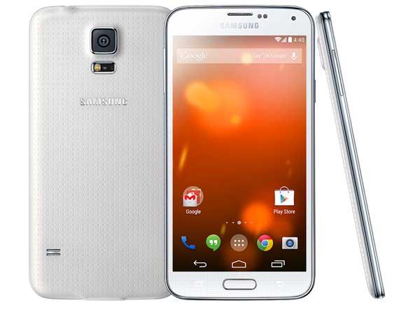 El Samsung Galaxy S5 Google Play Edition está a las puertas de poder comprarse en USA