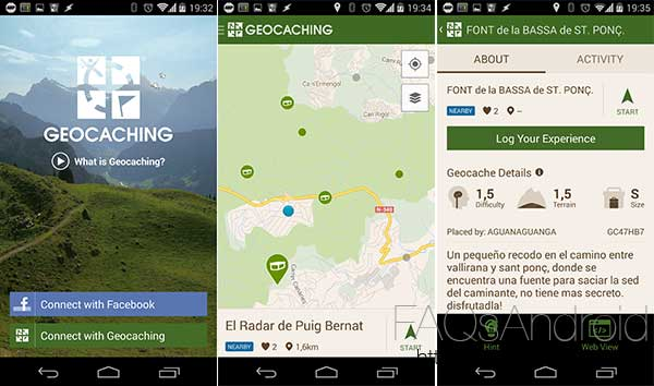 Top apps de la semana: 10 aplicaciones y juegos desconocidos a tener en cuenta: Geocaching Intro