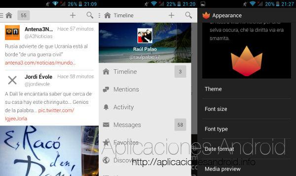 10 nuevas aplicaciones Android a tener en cuenta: Fenix for Twitter