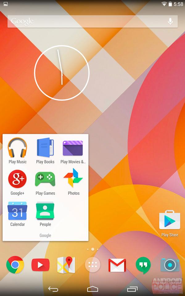 Filtrados nuevos iconos oficiales para una nueva versión de Android