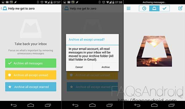 Mailbox, llega a Android la app de correo electrónico comprada por Dropbox