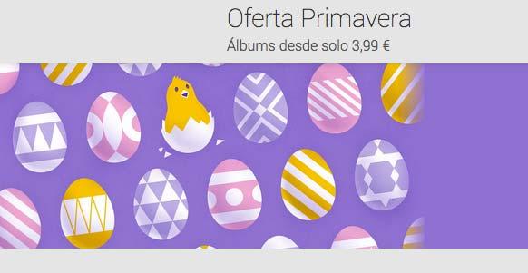 Descuentos en la Google Play Store por primavera y Semana Santa
