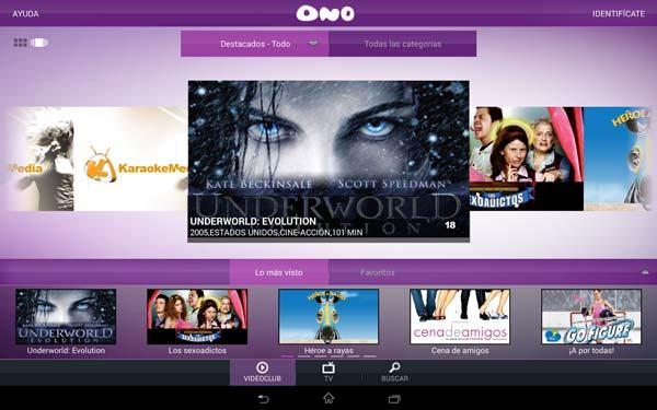 Las 10 apps destacadas de la semana:  Ono TV Online