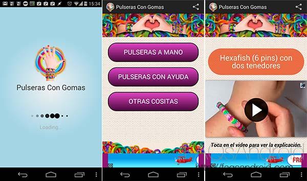 Las 10 apps destacadas de la semana:  Pulseras con gomas