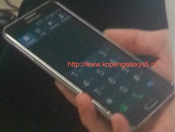 Imágenes del posible Samsung Galaxy S5 Prime con pantalla 2K