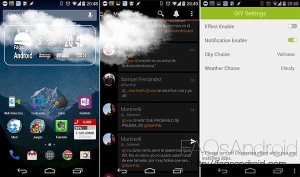 Top apps de la semana: 10 aplicaciones y juegos desconocidos a tener en cuenta: Weather Reflecting Live Effect