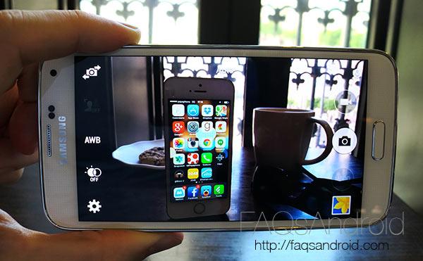 Samsung Galaxy S5 vs iPhone 5S: comparativa en vídeo