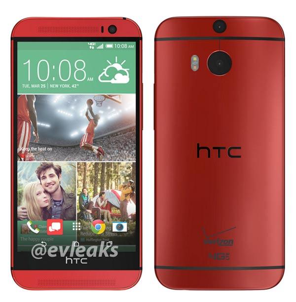 El HTC One M8 se venderá también en rojo, rosa y azul