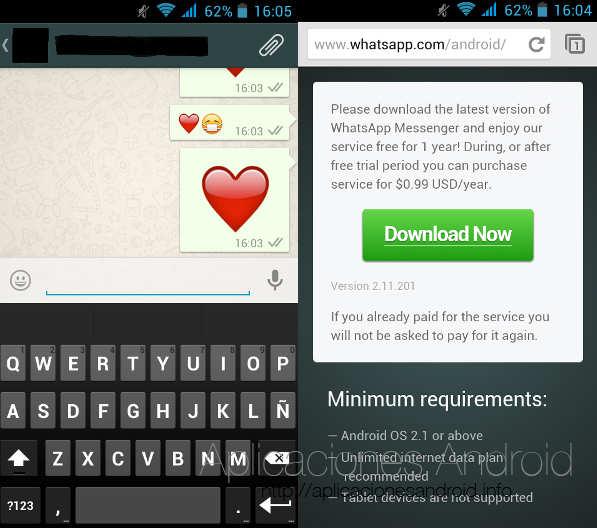 La descarga de WhatsApp en Google Play Store incluye muchas novedades