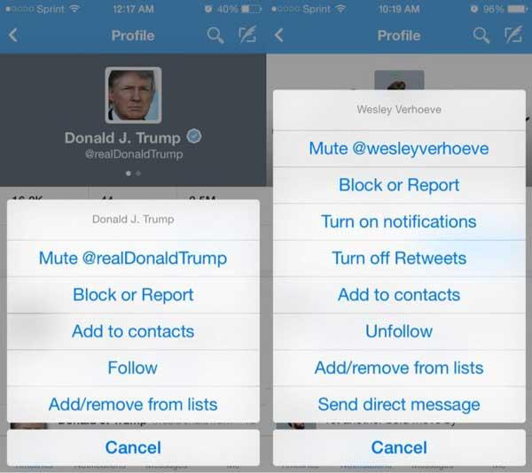 Al fin tendremos la opción de mutear hashtags y usuarios en Twitter para Android