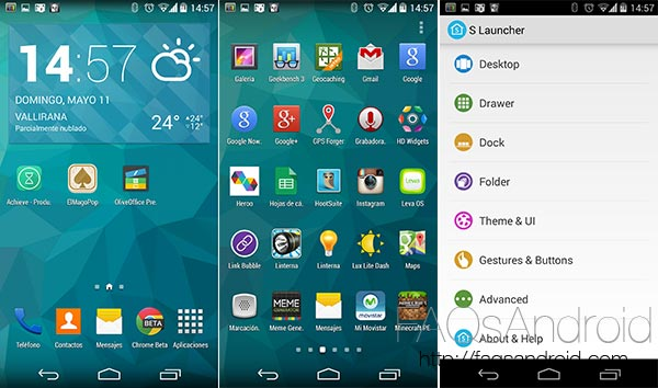 Las 10 apps de la semana: Galaxy S5 Launcher (S Launcher)