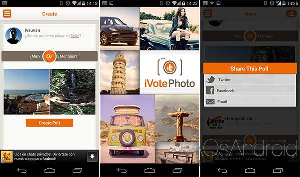 10 juegos y apps recién aparecidos esta semana por la Play Store: iVote Photo