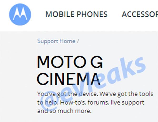 Motorola Moto G Cinema: ¿nuevo móvil android de Motorola?