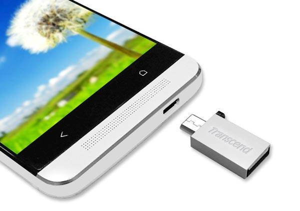 USB OTG: pendrive micro USB