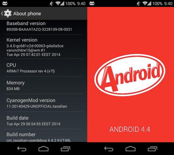 El Sony Xperia L obtiene una ROM con Android 4.4 Kit Kat