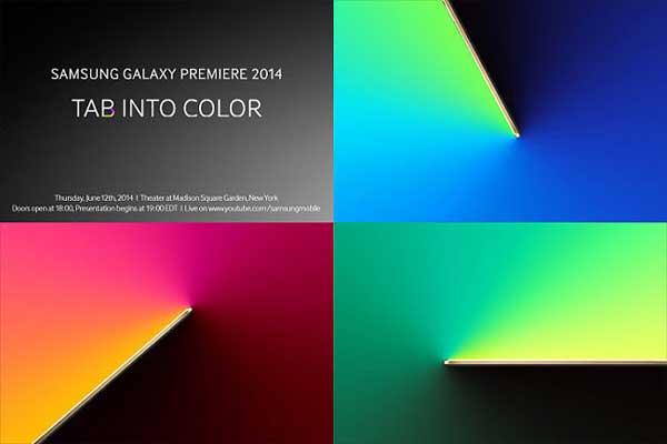 Ya hay fecha de presentación para los Samsung Galaxy Tab S: 12 de junio