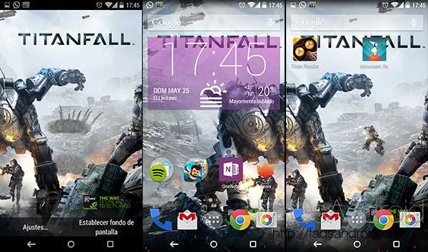5 fondos de pantalla animados: Titanfall