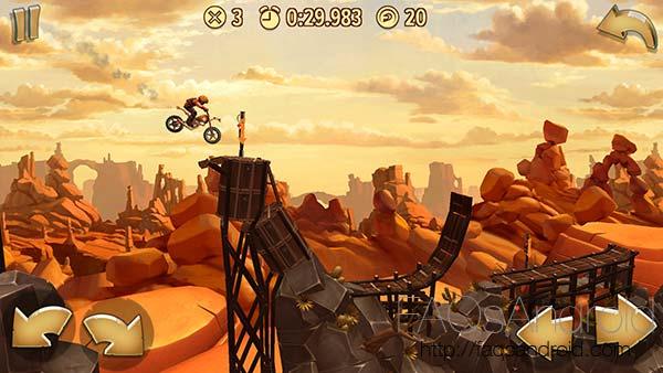 Demuestra tu habilidad con la moto en el juego de carreras Trials Frontier