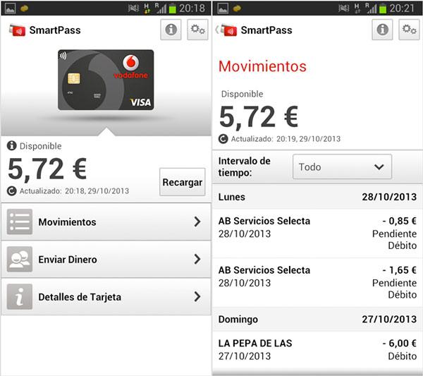 Cómo pagar con tu móvil android con el servicio Vodafone Smartpass