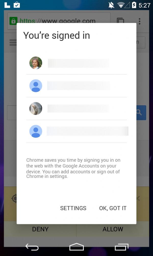 Presuntas capturas de pantalla de Android 4.5 o 5.0 L